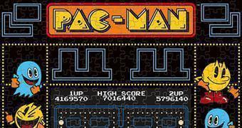 Quebra-Cabeça Pac-Man!