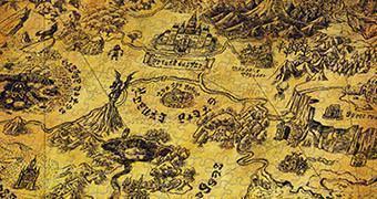 Quebra-Cabeça The Legend of Zelda: Mapa de Hyrule