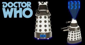 Dalek Projection Alarm Clock – Relógio Despertador Doctor Who