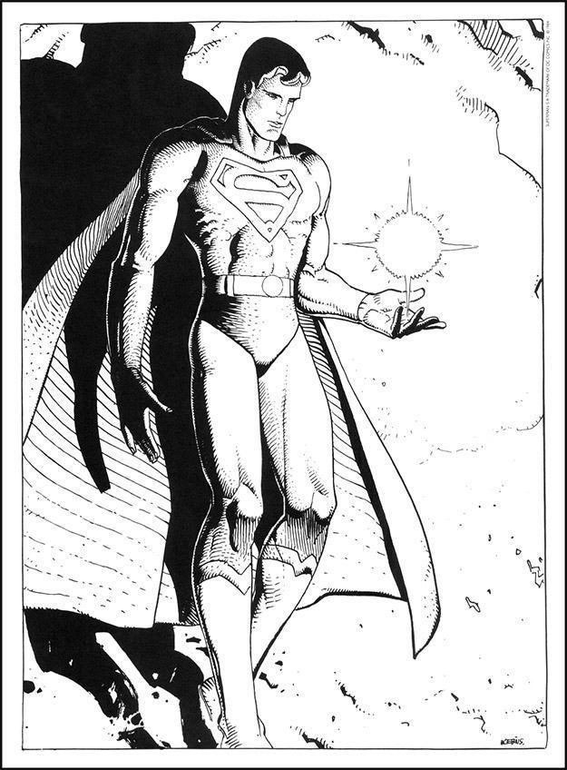 Superman-The-Man-Of-Steel-Statue-By-Moebius-03