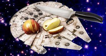 Cozinha Star Wars: Tábua de Cortar Millennium Falcon!