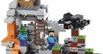Novos Kits LEGO Minecraft: The Cave e The Farm