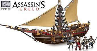 Assassin's Creed Mega Bloks – Kits de Blocos de Montar Compativeis com LEGO