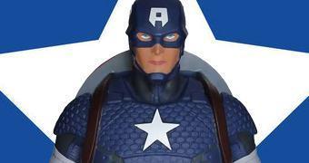Cofre Marvel Capitão América