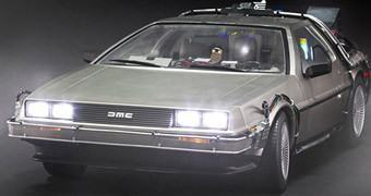 De Volta para o Futuro Hot Toys: DeLorean Escala 1:6