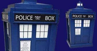 Doctor Who TITANS: TARDIS Estilizada
