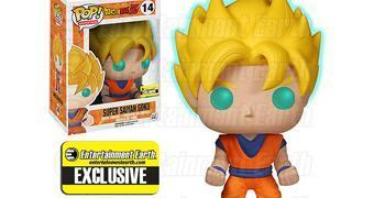 Dragon Ball Z: Super Saiyan Goku Pop! Fosforescente!