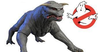 Estátua Ghostbusters Terror Dog, o Servo de Gozer em Os Caça Fantasmas