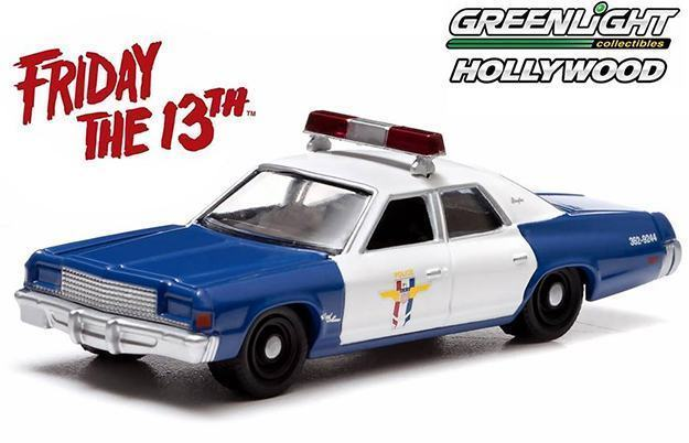 Greenlight-Hollywood-Series-7-Die-Cast-Vehicles-Friday13th