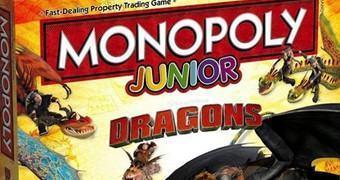 Jogo Monopólio Como Treinar Seu Dragão