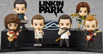 Bonecos Nendoroid  da Banda de Rock Linkin Park!
