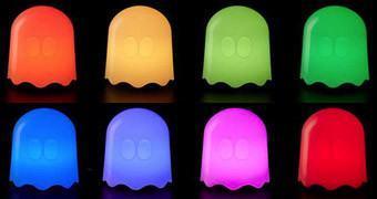 Luminária Pac-Man Ghost Lamp