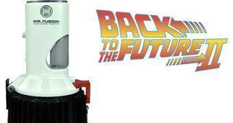 Réplica do Mr. Fusion do filme De Volta para o Futuro II