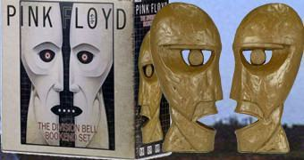 Apoio de Livros Pink Floyd: The Division Bell Bookends