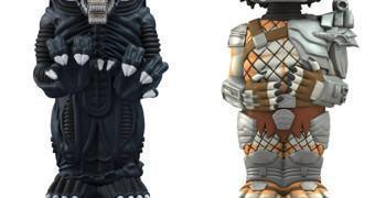 Novos Bonecos Neca Body Knocker com Energia Solar: Alien e Predador