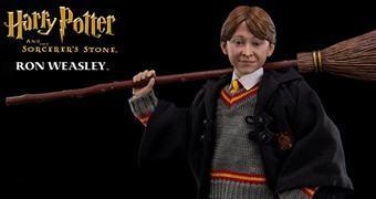 Action Figure Perfeita Ron Weasley em Harry Potter e a Pedra Filosofal