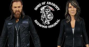 Sons of Anarchy Action Figures: Gemma Teller e Opie Winston