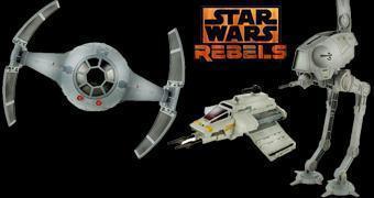 Veículos 3¾ da Nova Série Star Wars Rebels