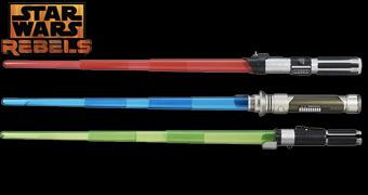 Sabres de Luz Electronic Lightsabers da Série Star Wars Rebels