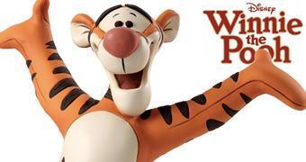 Busto Disney Grand Jester: Tigrão e Ursinho Pooh!