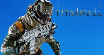 Estátua Piloto do Game Titanfall