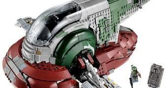 Slave I, nave de Boba Fett ganha versão LEGO ultra detalhada