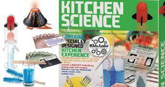 4M Kidz Labs Kitchen Science – Experiências com Itens da Cozinha