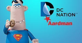 Superman DC Nation no Estilo Massinha Estúdio Aardman!