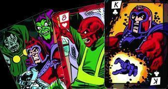 Baralho Vilões do Universo Marvel