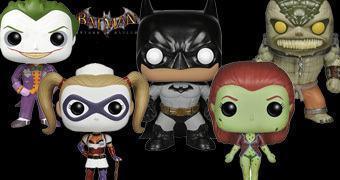 Bonecos Pop! Batman: Arkham Asylum!
