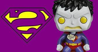 Boneco Pop! Bizarro Superman!