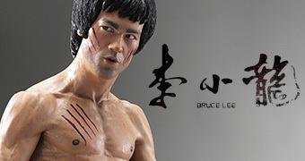 Estátua Perfeita Blitzway do Mestre Bruce Lee em Escala 1:3