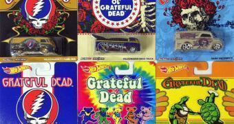 Carrinhos Hot Wheels da Banda de Rock Grateful Dead!