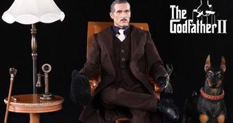 Action Figure 1:6 de Vito Corleone em O Poderoso Chefão: Parte II