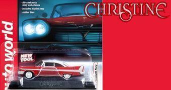 Christine, o Carro Assassino em Escala 1:64 (Stephen King)