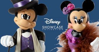 Figuras Disney Showcase: Mickey e Minnie Alta Costura