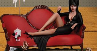 Kit de Montar: Elvira, a Rainha das Trevas
