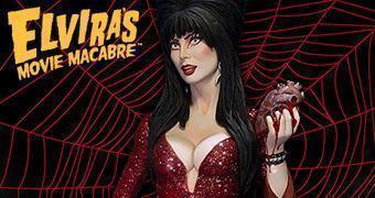 """Maquete Elvira, a Rainha das Trevas """"Seu Coração me Pertence"""""""