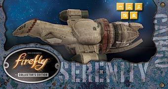 Jogo de Dados Yahtzee Firefly com a Nave Serenity!