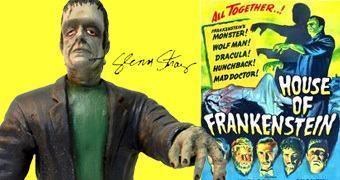Estátua de Glenn Strange como Frankenstein (Monstros do Universal Studios)