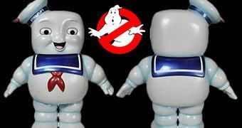 Ghostbusters: Stay Puft Marshmallow Man Funko Hikari Sofubi em Estilo Japonês!