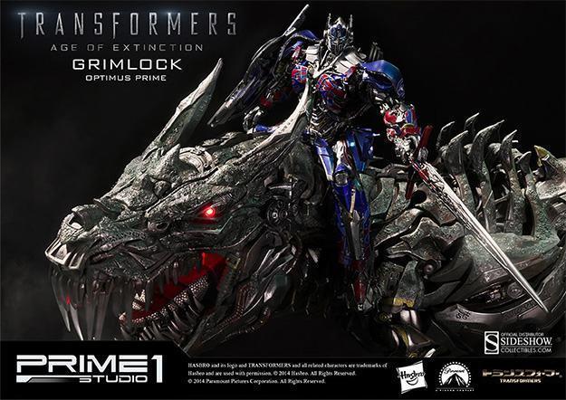 Grimlock-Statue-with-Opimus-Prime-02