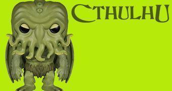 Boneco Pop! Cthulhu de H. P. Lovecraft!