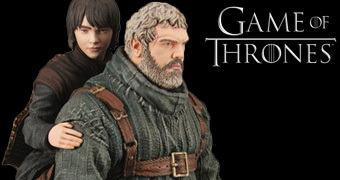 Figura Dark Horse Game of Thrones: Hodor com Bran Stark!