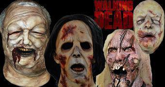 Máscara Medonhas da Série The Walking Dead!