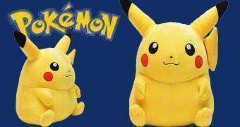 Pikachu Pokémon de Pelúcia em Tamanho Real (40cm) com Peso Real (6kg)
