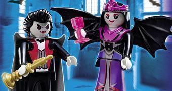 Vampiro e Vampira Playmobil