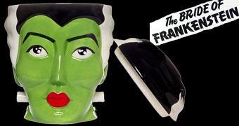 Pote de Cookies da Noiva de Frankenstein!