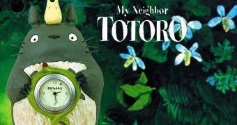 Relógio do Filme Meu Amigo Totoro de Hayao Miyazaki!