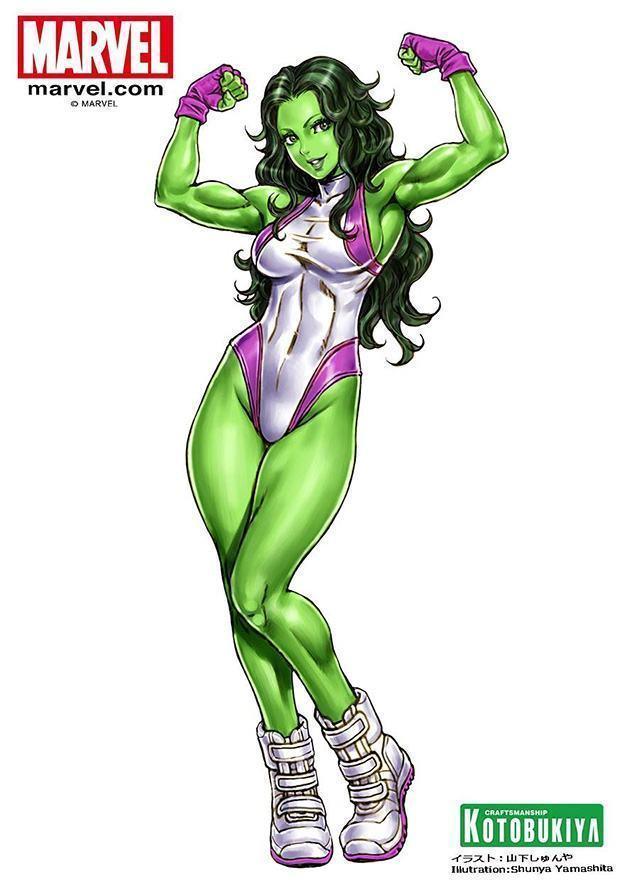 She-Hulk-Bishoujo-Statue-07